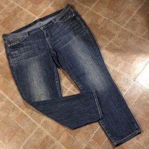 Torrid skinny jeans size women's plus size 22